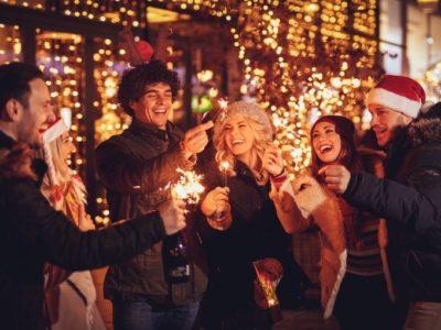 Weihnachtliche Stimmung in der Gruppe