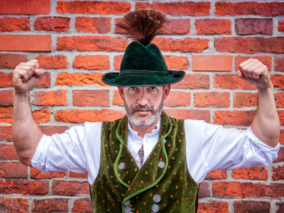 Bayer in Tracht