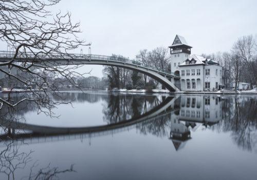 Insel der Jugend Berlin im Winter