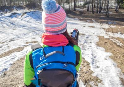 Mit dem GPS Gerät ab in den Wald