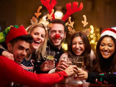 Witzige Verkleidungen für die Weihnachtsparty