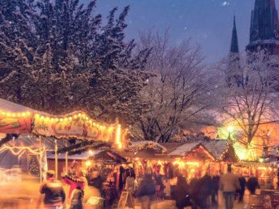 Stimmungsvoller Weihnachtsmarkt