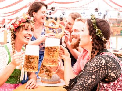 Hauptstadt Oktoberfest am Schiffbauerdamm Berlin