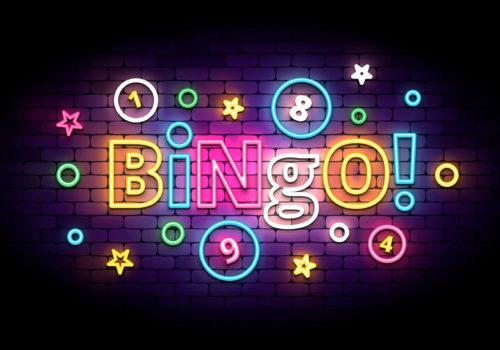 Bingo Neon Schrift